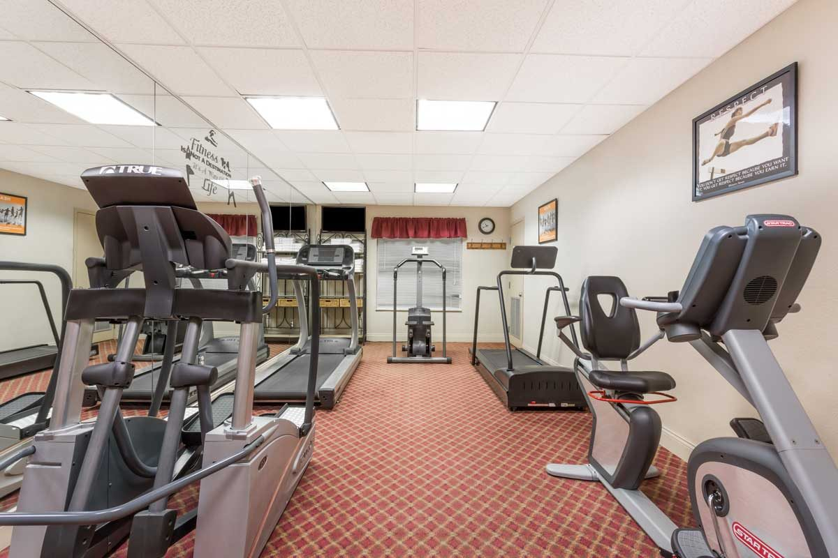 Exercise Room Hawthorn Suites Lake Buena Vista