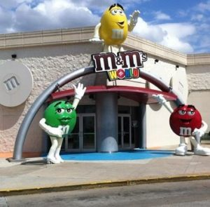 M&M World in Orlando For Young Children