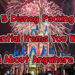 disney packing list essentials