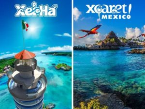 Xel-Ha and Xcaret