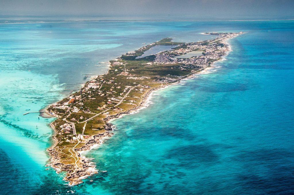 Island in Playa Del Carmen