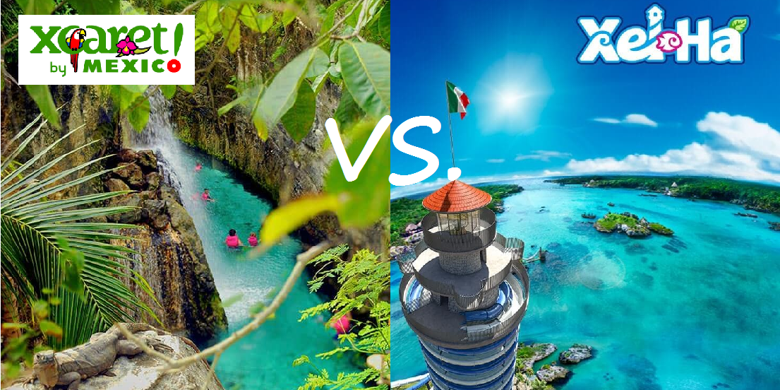 Xcaret versus Xel Ha Comparison
