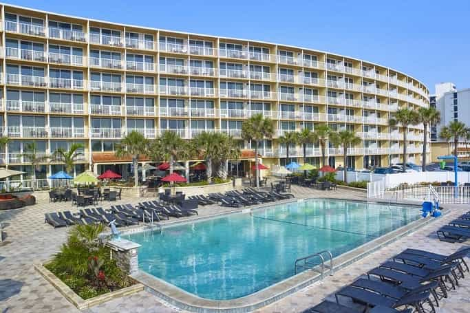 Daytona hotels with ocean view