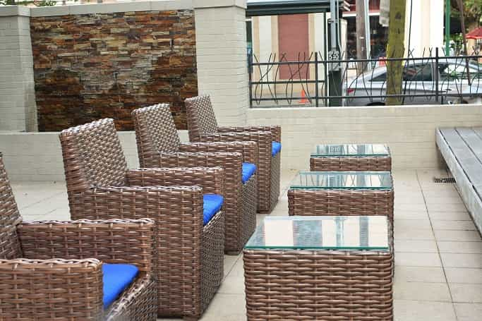 Hotel Indigo New Orleans Outdoor Seating