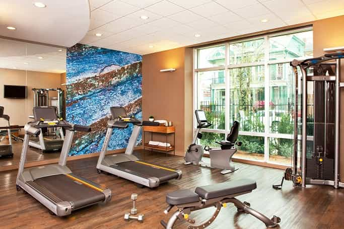 Indigo Hotel Fitness Center