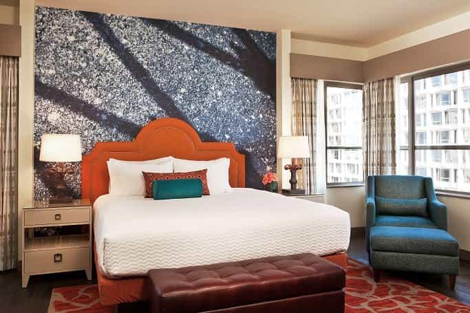 Indigo Hotel Room