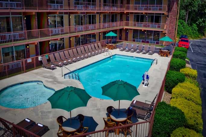 Best resorts in Pigeon Forge