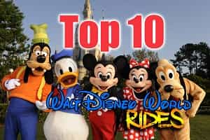 Top Disney World Rides
