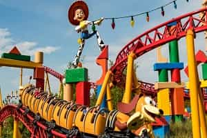 Toy Story Land Roller Coasters