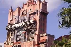 Tower of Terror Ride