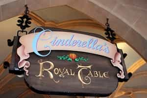 Eating Inside Cinderellas Castle