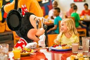 Lunch With Mickey Mouse
