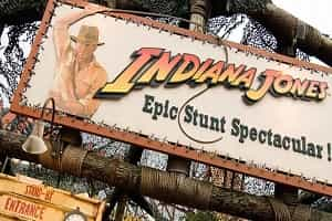 Disney Indiana Jones Attraction