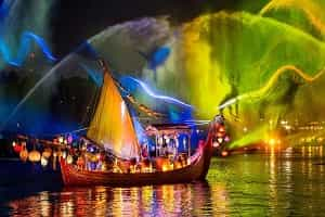 Water Light Shows In Orlando