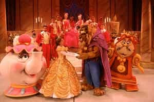 Beauty and the Beast Show Hollywood Studios