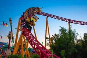 Slinky Dog Coaster Orlando